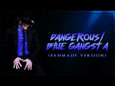 DANGEROUS/BLUE GANGSTA [Rodrigo Teaser Style] - Fanmade Version (Album Remake)   Michael Jackson