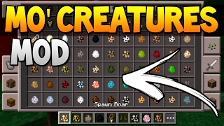 MO' CREATURES MOD IGUAL DO PC!! Minecraft Pocket Edition 1.0.3.12