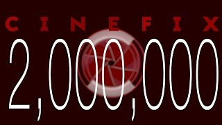 Thanks to Our 2,000,000 Subscribers!