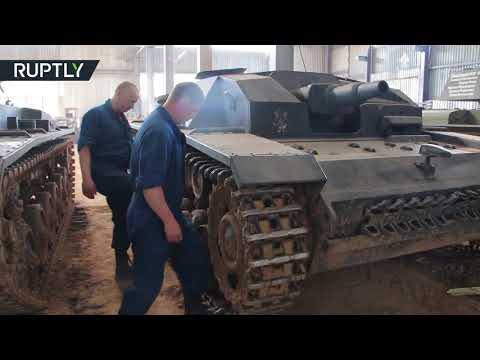 'One of a kind': Soviet WWII war machines restored by Belarusian 'tank-hunters'