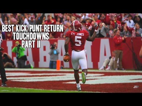 Best Kick/Punt Return Touchdowns of the 2015-16 College Football Season    Part II ᴴᴰ