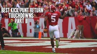 Best Kick/Punt Return Touchdowns of the 2015-16 College Football Season || Part II ᴴᴰ
