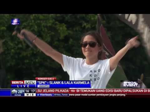 Penampilan Slank - Lala Karmila | #KonserGue2