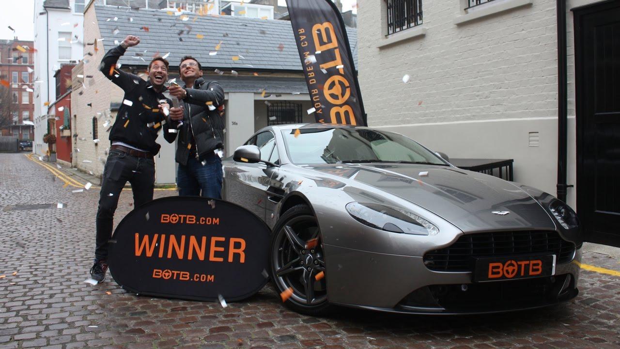 Winner Week 48 2016 Aston Martin Vantage S Plus 10 000 Nov 28Th Dec 4Th 2016