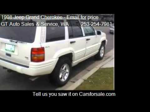 1998 Jeep Grand Cherokee Limited - for sale in Tacoma, WA 98