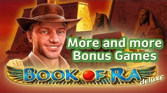 슬롯머신 연속 보너스게임 / 🤗Book of Ra🤗 slot machine More and more Bonus Games