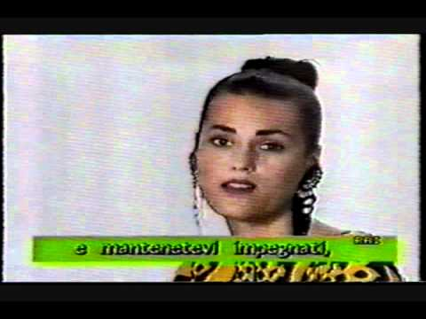 Yasmin Le Bon interview clips 1987