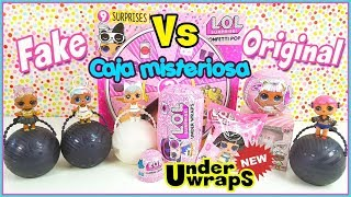 LOL Surprise Under Wraps - Glam Glitter - Gran sorpresa con Ultrarrara