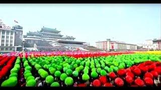 North Korea 2017 Parade — 105th Anniversary
