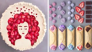 How To Make Cake Decorating For Family | Easy Dessert Recipes | So Yummy Cake Decorating Ideas