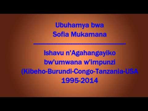 Ishavu n'agahangayiko by'umwana w'impunzi Sofia Mukamana