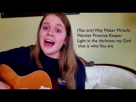 Way Maker cover by Jensen Snyder