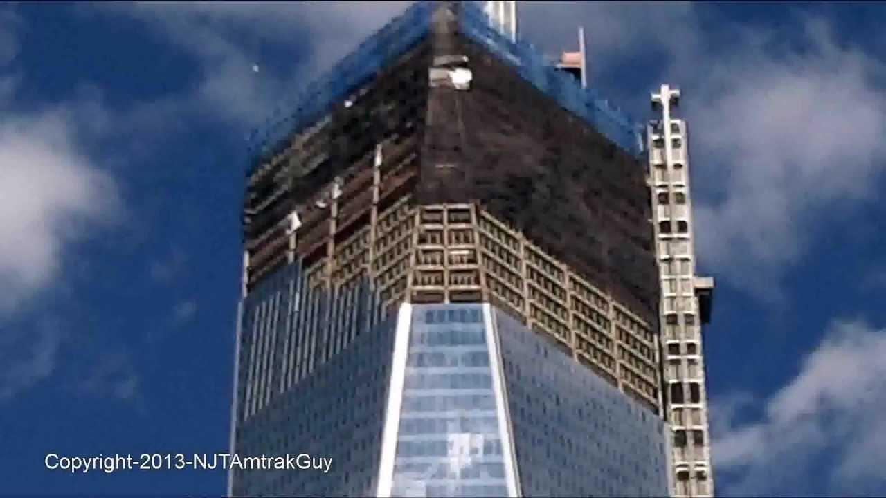One World Trade Center / Freedom Tower 1/31/2013 Construction Progress Part  1