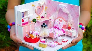 DIY Dollhouse Girl Room