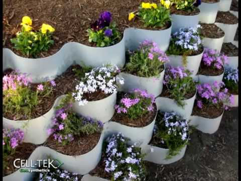 VERTI CELL EARTH RETENTION SYSTEM GREEN WALL YouTube