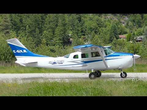 Cessna U206C Super Skywagon Landing