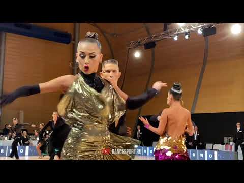 Ron Brener - Michal Itelman ISR, #ChaChaCha / WDSF European Ch. Youth 10 Dance
