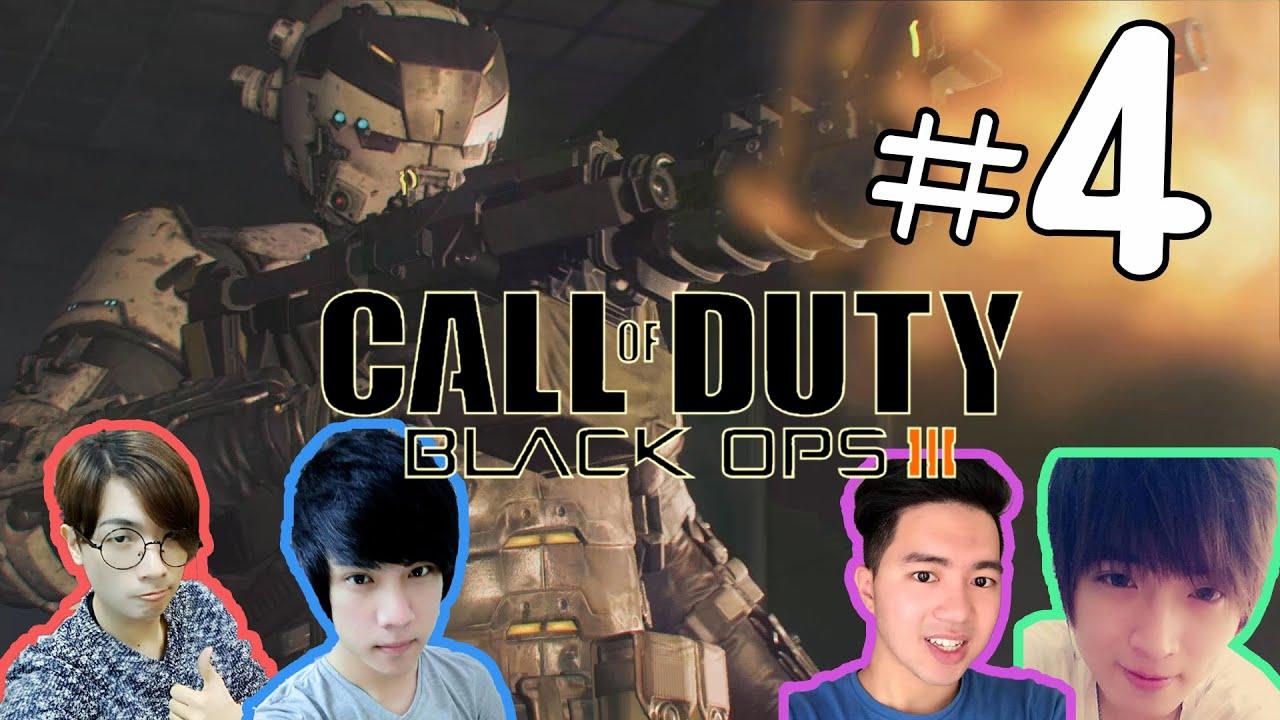 決勝時刻:黑色行動3 Call of Duty: Black Ops III   #04 with老吳 老洋 宋聖 - YouTube
