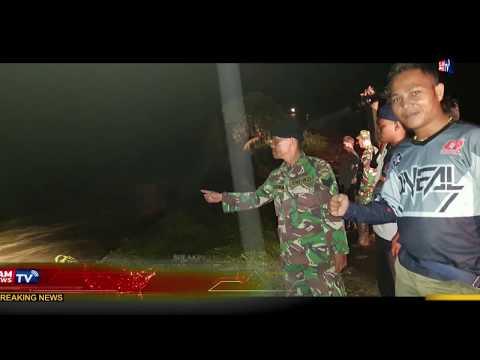Detik Detik Personil Kodim 0209/Labuhan Batu Tembus Lokasi Banjir Bandang Di Kabupaten Labura