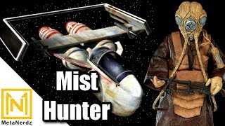 Zuckuss & 4-LOM Bounty Hunter Ship - MIST HUNTER - G-1A Starfighter - Star Wars Ships Lore