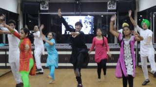 Mitran Da Junction Dance   Diljit Dosanjh   Bhangra Choreography   Step 2 Step Dance Studio