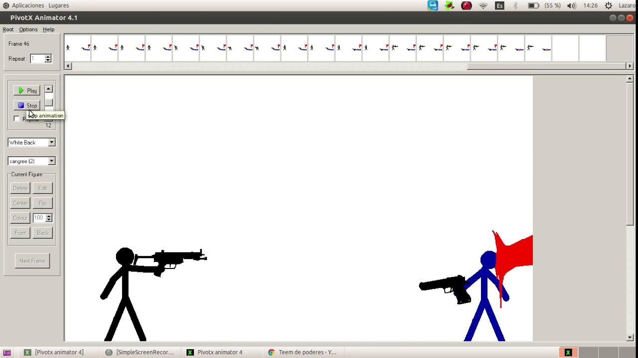 Aisl Shooting la primera animación de mi primo =3 (de 6 años de edad)