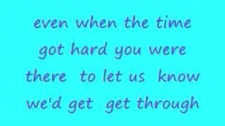 Good Charlotte- Thank you mom (Lyrics)