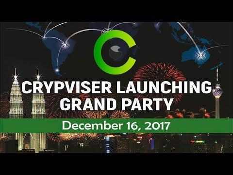Grand Crypviser presentation 2017 in Dusseldorf!