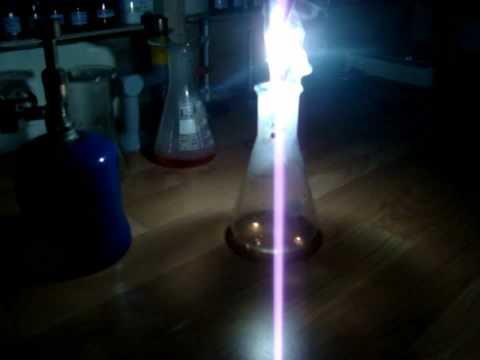 Magnesium Burning In Oxygen