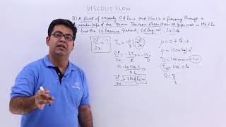 Viscous Flow Problem Example 2