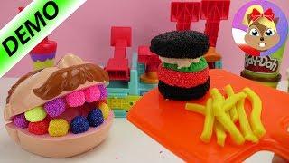 Doktor Ząbek próbuje hamburgera z ciastoliny Play Doh -wypadek podczas jedzenia. Potrzebny dentysta!