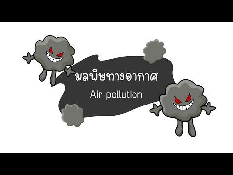 Motion Graphic  มลพิษทางอากาศ Air pollution