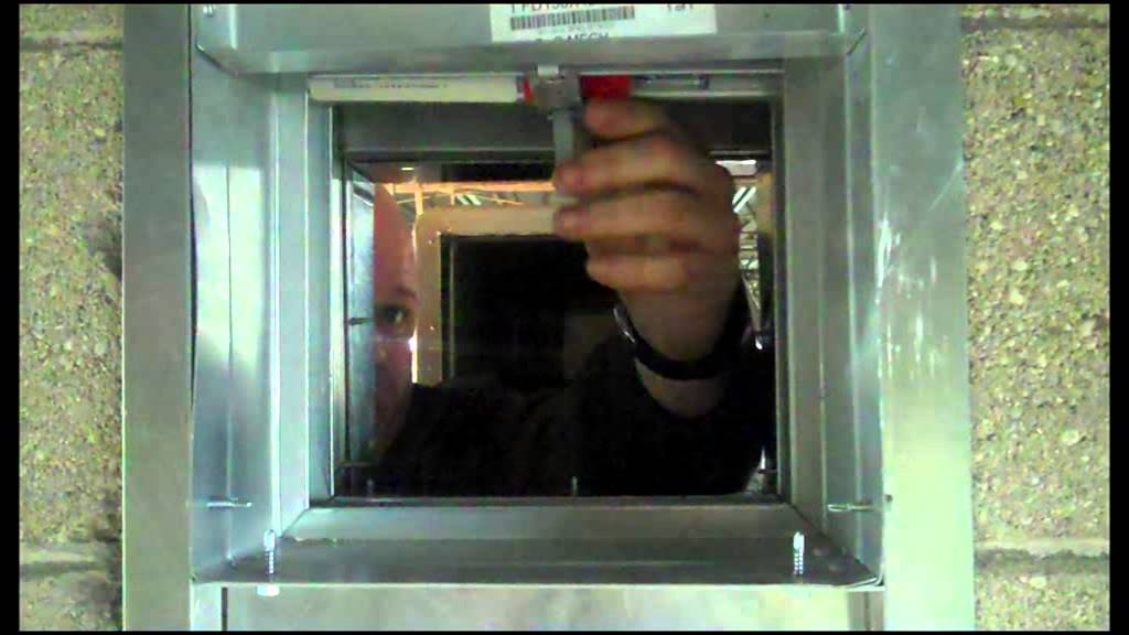 Fire Damper Inspection Youtube