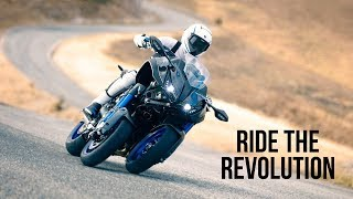 new yamaha niken technical video one product overview