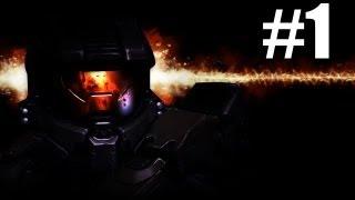 Halo 4 Walkthough Part 1 - Beginnings & History (X360) [HD]