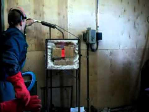 Газовый горн кузнечный своими руками видео
