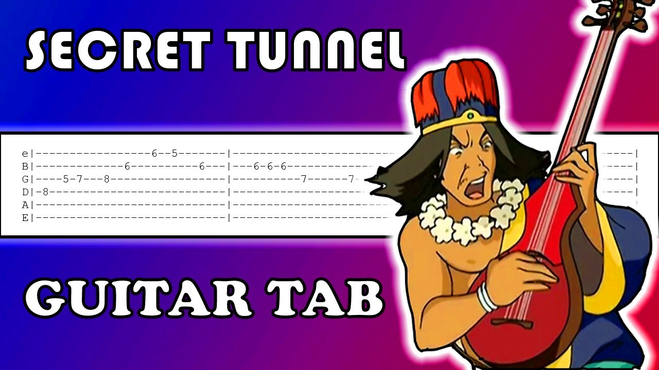 How to play Secret Tunnel on Guitar | Tutorial | Tabs