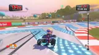 F1 Race Stars: India GP - Mark Webber (Red Bull) Gameplay (PC) 720p HD