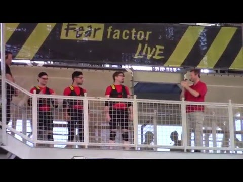 Fear Factor Live Universal Orlando Full Show 2016