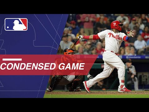 Condensed Game: SF@PHI - 5/9/18