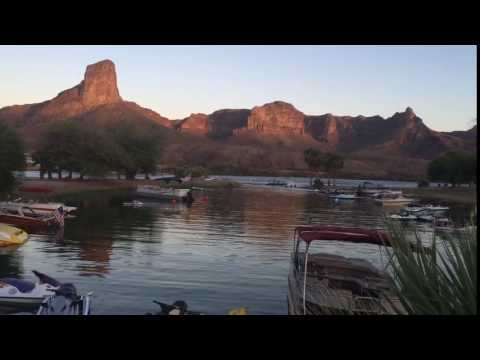 Passenger gets ejected in Boat crash on the Colorado River in front of River Lodge marina