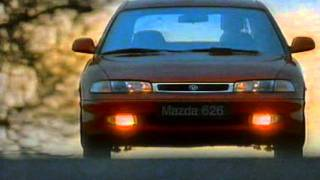 Mazda 626 Mark 4 (1993 - 1997) - stará reklama / old TV commercial (1995)