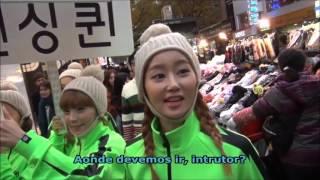 Crayon Pop, patrulha em Myeong…