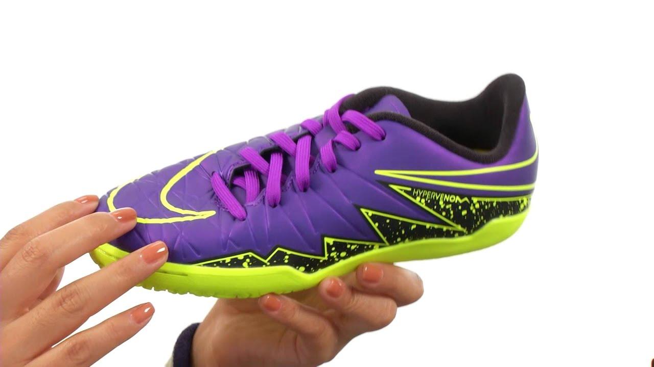 buy popular 184b8 5efaa Nike Kids Jr Hypervenom Phelon II IC Soccer (Toddler Little Kid Big Kid)  SKU 8542715