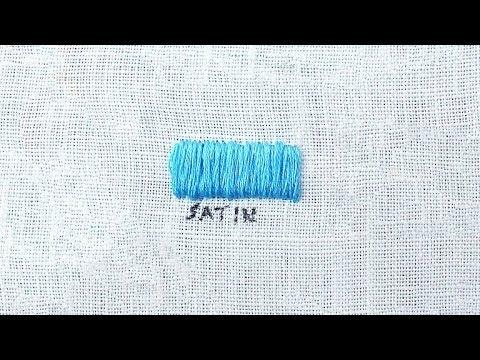 How to do a Satin Stitch