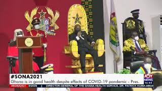 SONA2021 Leadership of parliaments address  The Pulse on JoyNews 9-3-21