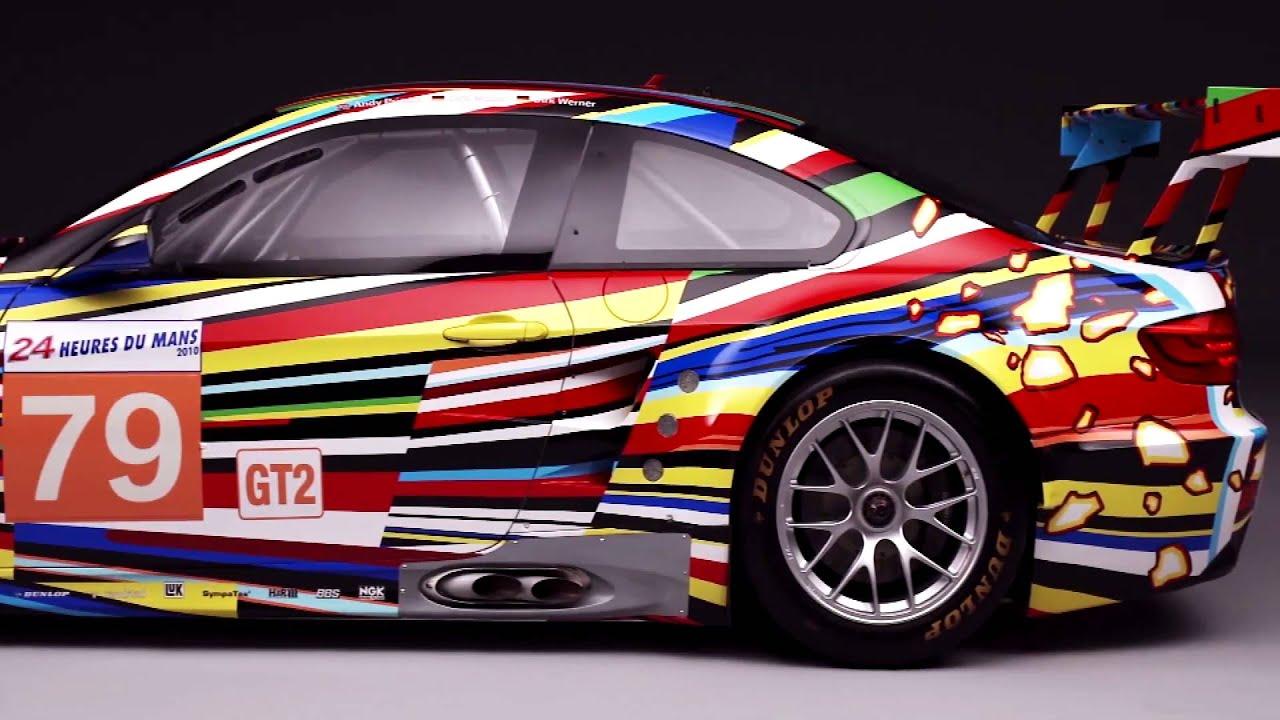 bmw art cars collection revised jeff koons 2010 studio. Black Bedroom Furniture Sets. Home Design Ideas
