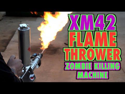 XM42 Flamethrower (Zombie Killin