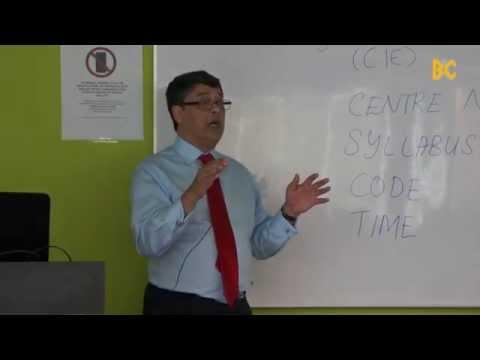 Economics Lecture by Professor Kent Matthews, Cardiff Business School