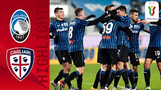 Atalanta 3 1 Cagliari Atalanta cruise to quarter final spot Coppa Italia 2020 21